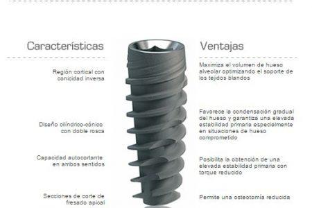 Implantes dentales JD evolution