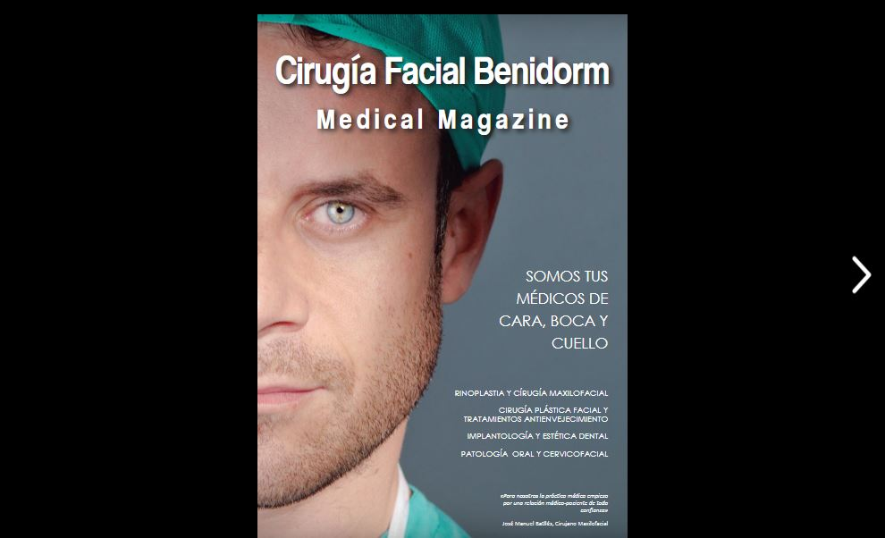 Revista Médica Cirugía Facial Benidorm Medical Magazine