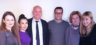 De izda a derecha: Dra. Gout, Dra.Sosoaka, Dr. Deprez, Dr. Batllés, Dra. Ranneva, Dra.Peric
