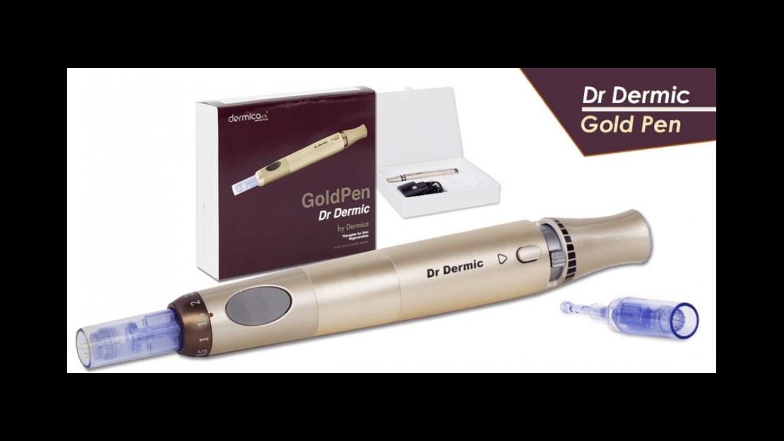 mesoterapia con micropunciones Gold Pen